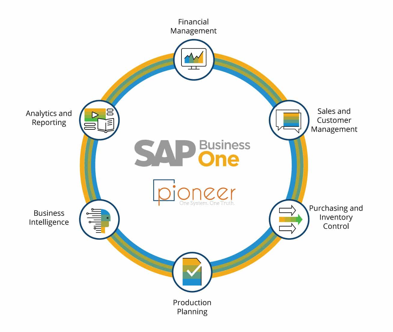 What is sap software used for? all these things and more with pioneer B1